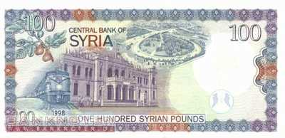 Syria - 100  Pounds (#108_UNC)