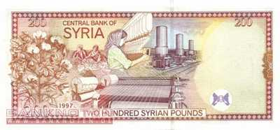 Syria - 200  Pounds (#109_UNC)