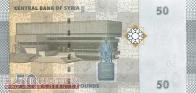 Syria - 50  Pounds (#112_UNC)