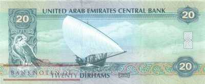 Unites Arab Emirates - 20  Dirhams (#028b_UNC)