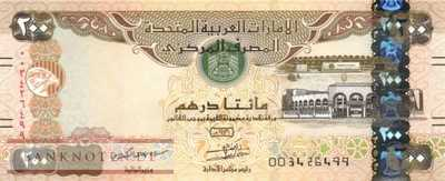 Unites Arab Emirates - 200  Dirhams (#031c_UNC)