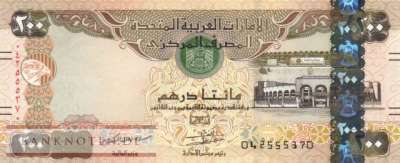 Unites Arab Emirates - 200  Dirhams (#031d_UNC)