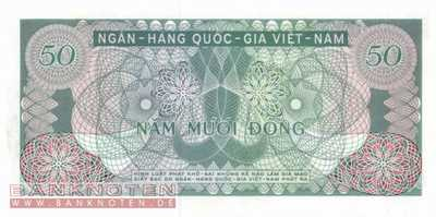 Vietnam, South - 50  Dong (#025a_UNC)