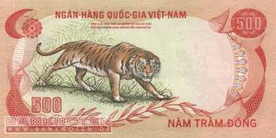 Vietnam, South - 500  Dong (#033a_UNC)