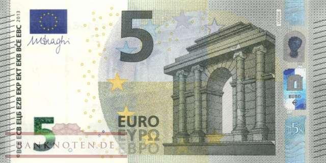 europ ische union 5 euro e020 unc banknoten. Black Bedroom Furniture Sets. Home Design Ideas